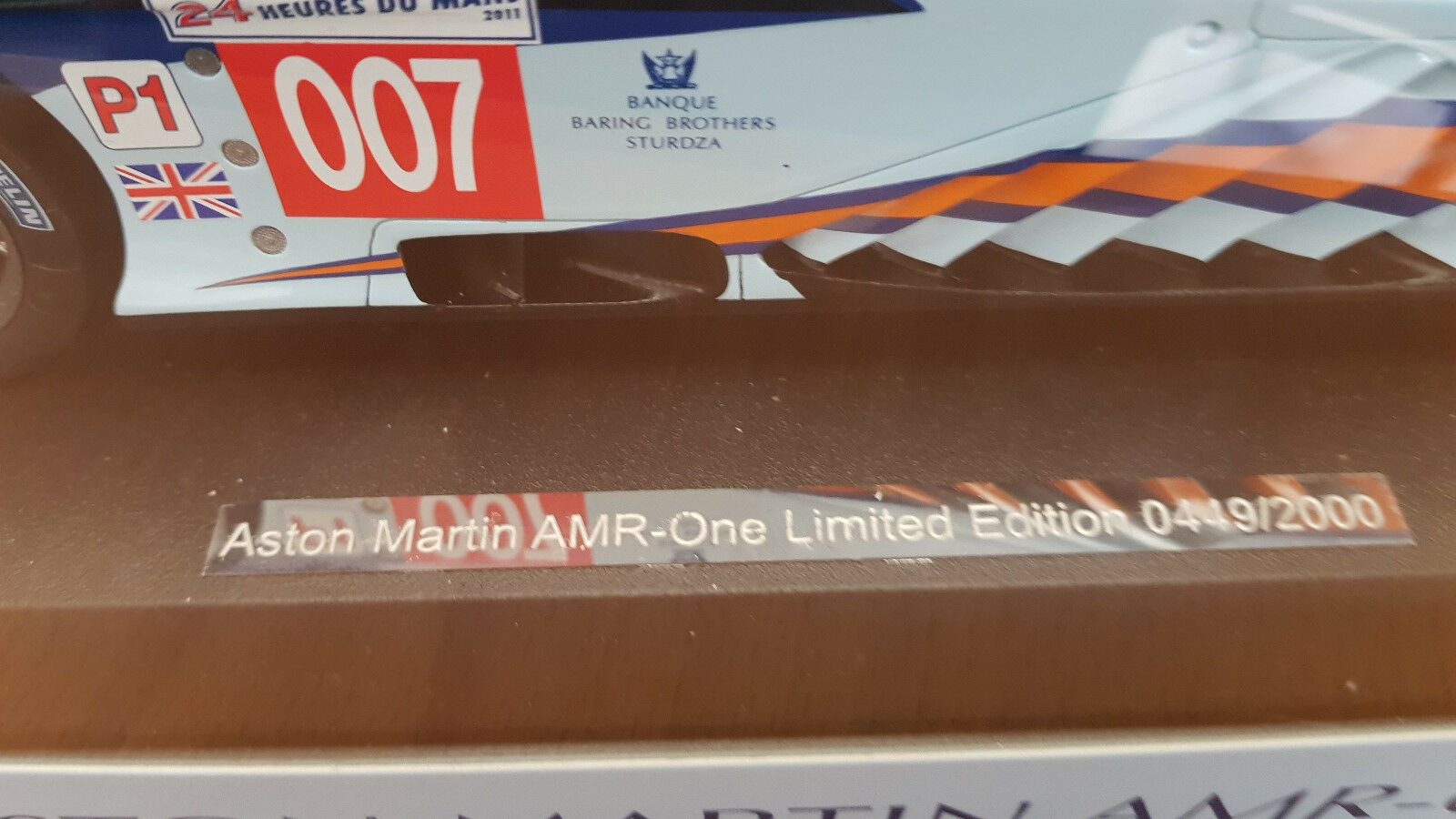 1:18 SPARK ASTON MARTIN AMR-ONE #7 LE LE LE MANS 2011 Limited Edition 449/2000 | Promotions