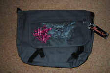 MIAMI INK WINGED SKULL MESSENGER BAG BNWT OFFICIAL TATTOO AMI JAMES