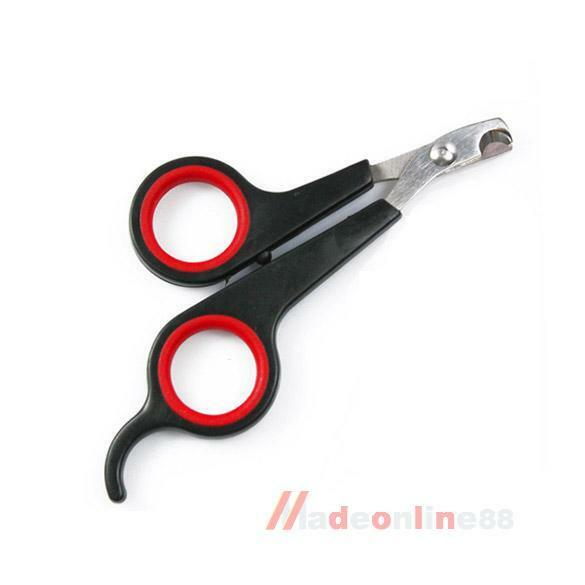 Trimmer for Dog Cat Nail Clippers Scissors Grooming F