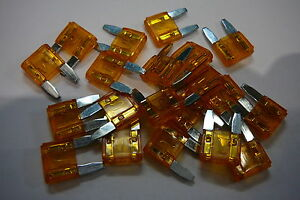 5 amp MINI BLADE CAR FUSES 5A MINI BLADE FUSES 20 PACK