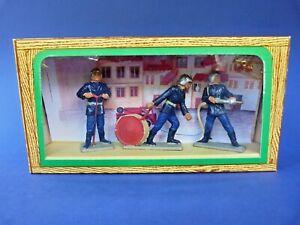STARLUX-Ancienne-boite-3-pompiers-54mm-lot-2-plastic-toy-soldier-firemen