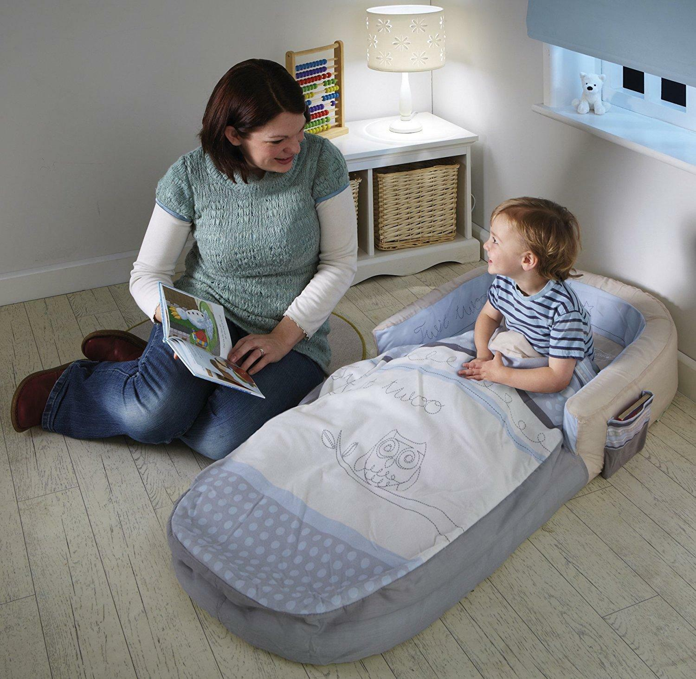 18 mesi - 3 anni per bambini da viaggio per lettino singolo materasso gonfiabile saltare in aria Air essere