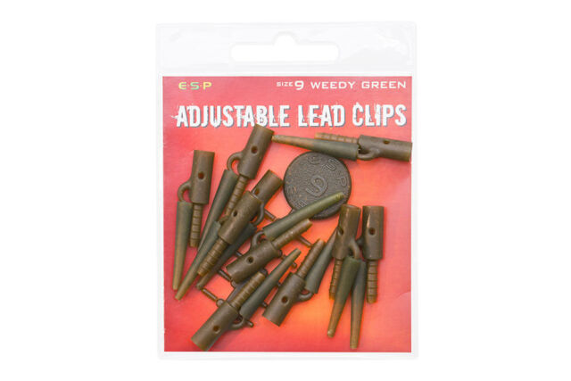ESP Adjustable Lead Clip Kits Silt Free P/&P
