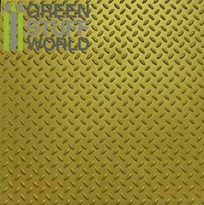 ABS-Embossed-Plasticard-A4-DIAMOND-Single-Tread-plate-Styrene-Plastic-Sheets