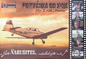 Kovozavody-Prostejov-1-72-Model-Kit-72126-Zlin-Z-126-039-Trener-Drakous-039