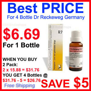 Details about 2 Pack Dr Reckeweg R7 Drops EXPIRY NOV 2021