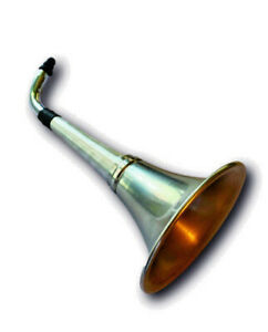 Ear-Trumpet-Horn-For-The-Hard-Of-Hearing-Crowd-Great-party-gag-gift-All-Metal
