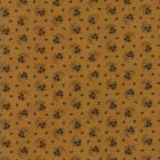 Per 1//4 Metre Moda Fabric Spice It Up Main Madder Light Tan
