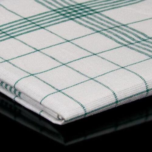 100 Geschirrtücher Halbleinen Grün 50x70cm Geschirrtuch Küchentuch Küchetücher