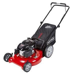 Craftsman 37438 149cc 21 Kohler 675 Ohv Engine 3n1 Rear Bag Push Lawn Mower