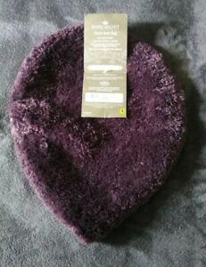 Marvelous Details About Royal Velvet Plush Bath Rug Elongated Lid Cover Midnight Purple Alphanode Cool Chair Designs And Ideas Alphanodeonline