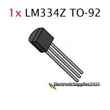 1 pcs LM334Z TO-92 Adjustable Current Sources and Temperature Sensor LM334