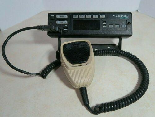 Motorola Astro HLN6432D Radio Control Head with Bracket /& HMN1052A Microphone