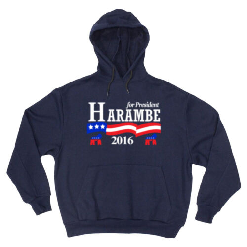 Harambe President 2016 Donald Trump jersey Hooded SWEATSHIRT HOODIE