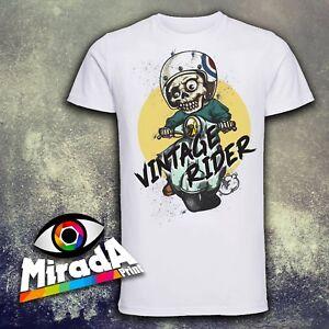 Skull Scooterist t-shirt