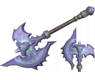 "Reliable 36"" Wow Cosplay Shadowmourne Axe Deluxe Warcraft Larp Foam Anime Sword Tv, Film & Game Replica Blades"