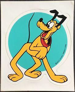 Vintage Stickers Mint Condition!! Walt Disney Donald Duck