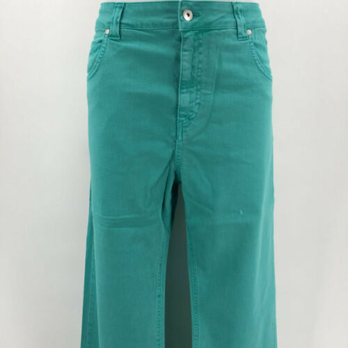 Escales Green Men/'s Straight Jeans Size 48