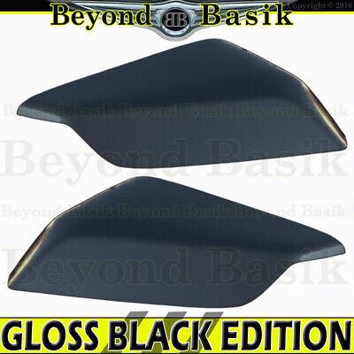 For 2014 15 16 2017 2018 2019 NISSAN ROGUE GLOSS BLACK Mirror Covers W//TSL hole