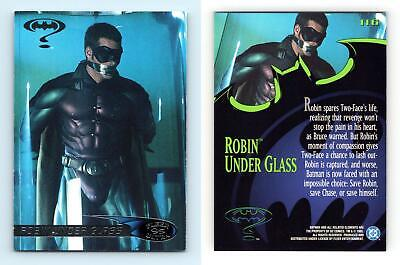 Robin Under Glass #116 Batman Forever 1995 Fleer Ultra Trading Card