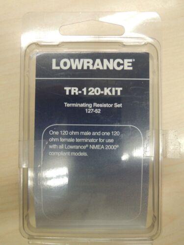 Lowrance Terminating Resistor Set TR-120-KIT 127-52 Gen 3 HDS units