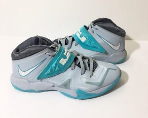 72520d6f8455 Nike 13 Lebron Zoom Soldier Sneaker 7 VII 2013 Light Armory Blue ...