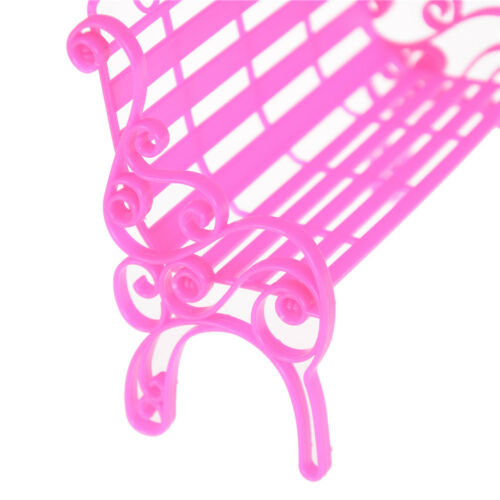 Doll Bench Park Chair Accessories For Doll House Dollhouse Decor Toys Pipeee SP