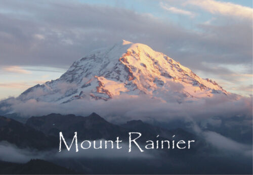 Mount Rainier, Washington State, Travel Souvenir 2 x 3 Fridge Magnet WAS08