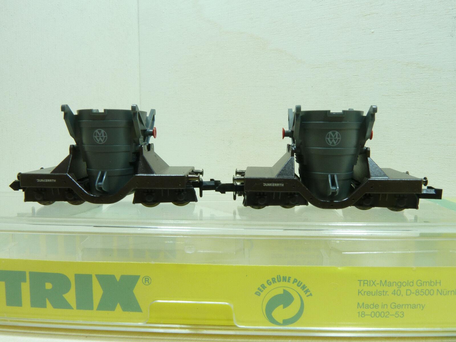 Vemos Minitrix vagones 13826 roheisenwagen set