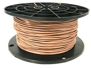 AUTOMOTIVE WIRE 18 AWG HIGH TEMP GXL STRANDED WIRE GREY 250 FT ON A SPOOL  USA