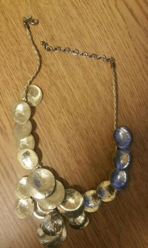 Vintage Joan Rivers Gold Tone Necklace RARE!!
