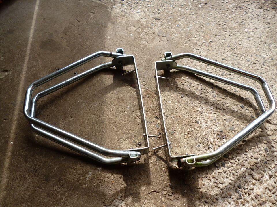 Cykelholder, Metal