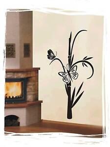 Wandtattoo Bambus Baum Wallbild chinesische WBM06 ASIA