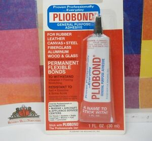 PLIOBOND GENERAL PURPOSE ADHESIVE 1.0 OZ (30 ML) NEW