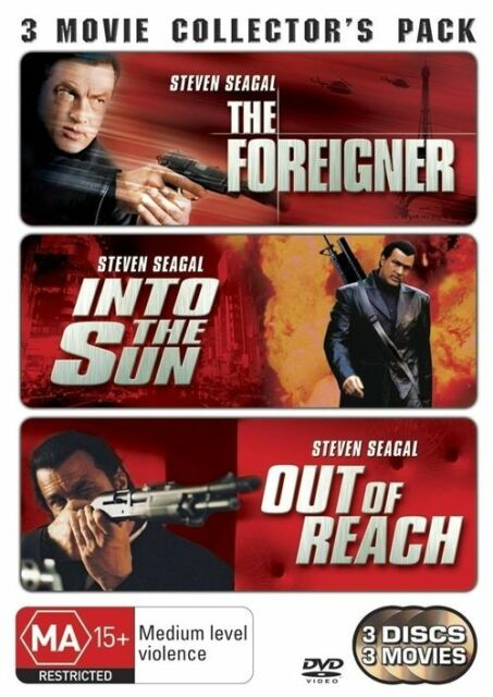 The Out Of Reach / Foreigner / Into The Sun [ 3 DVD Set ], LIKE NEW, R 4..5775