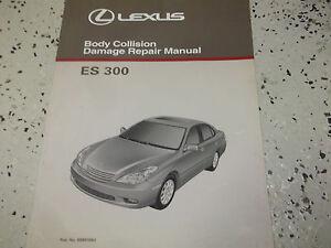 1999 2000 2001 2002 lexus es300 es 300 body service shop repair rh ebay com 1999 lexus es300 repair manual pdf 1999 lexus rx300 repair manual