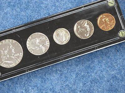 1961 Proof Set //// Gem Proof //// 5 Coin Set //// 90/% Silver