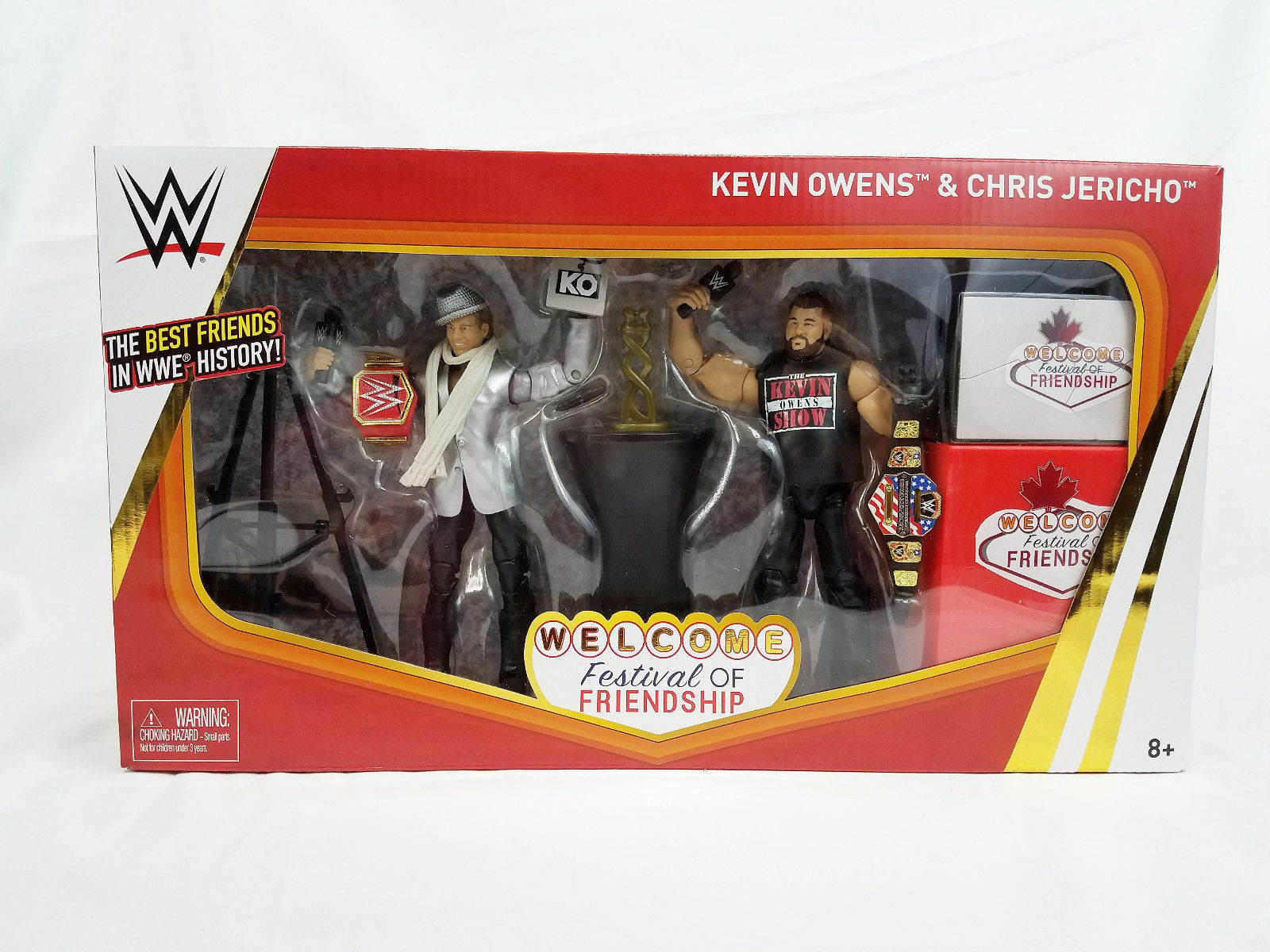 WWE WWE WWE EPIC MOMENTS CHRIS JERICHO KEVIN OWENS SERIES ELITE WRESTLING ACTION FIGURE 9eabf7