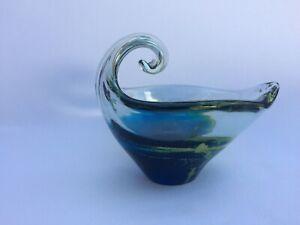 Vintage-Maltese-Mdina-Signed-Art-Glass-Small-Dish