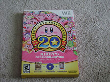 KIRBY'S DREAM COLLECTION SPECIAL EDITION...NINTENDO WII...**SEALED***BRAND NEW**