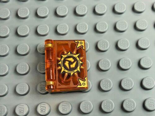 Trans Orange /& Gold Book of Destruction x1 LEGO Minifigure Book Nexo Knights