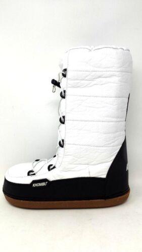 NEW White//Black 191G pm Women/'s Snowbunny Snow Boot W//Bungee Closure