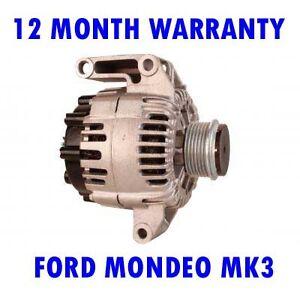 Ford Mondeo mk3 MK III 1.8 2.0 2.2 2.5 2000 2001 2002 2006 2007 Alternador