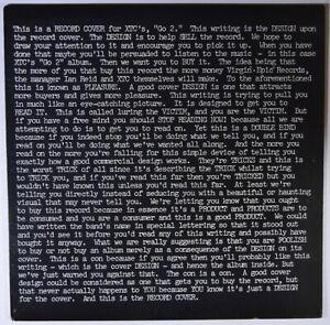 XTC-Go-2-Vinyl-LP-NEAR-MINT