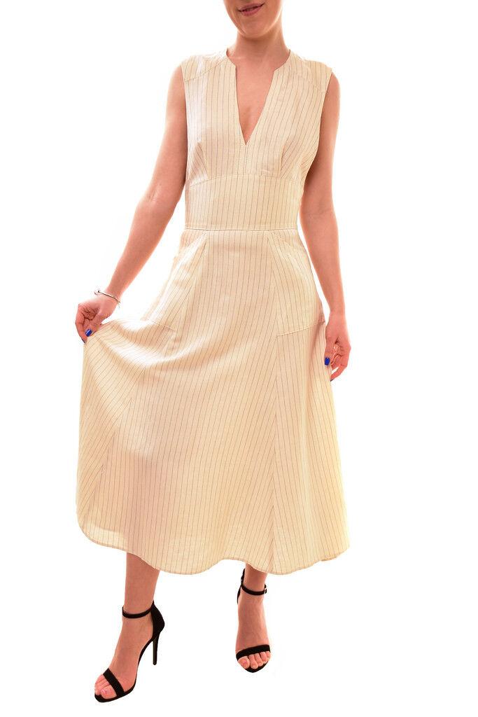 Free People Women's Pretty Daze Midi Dress Cream Size XS RRP  BCF84