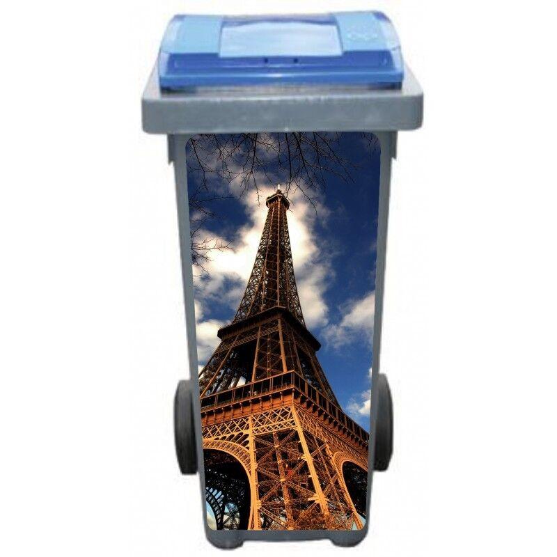 Adesivi cassonetto decocrazione Torre Eiffel 3207 Art déco adesivi