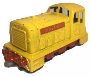 Matchbox-Eisenbahn-Lesney-Nr-24-Shunter-D-1496-RF-Lok-Lokomotive-Zug-Railway