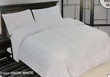 New Ultra Soft Solid King Size Heavy Thick 3pcs Borrego Sherpa Blanket 220x240cm