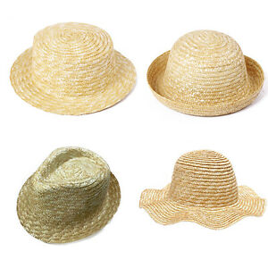 45487d5a78a57 Womens Child Natual Handmade Straw Hat Panama Flat Top Wave ...