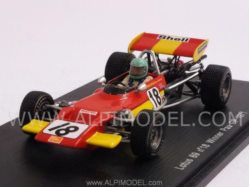 Lotus 69 Winner GP Pau 1971 Reine Wisell 1 43 SPARK S2147